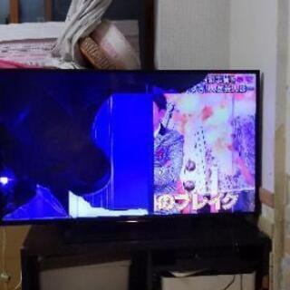 【ジャンク品】ソニーブラビアKJ49X7000D 液晶割れ