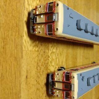 鉄道模型HOゲージ2両