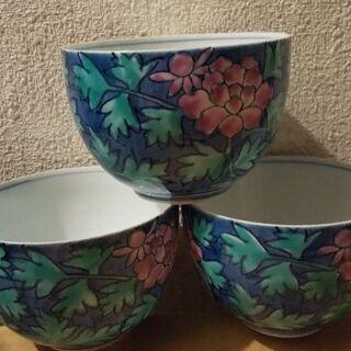 湯飲み茶碗3個