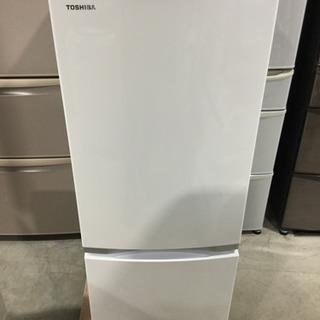 TOSHIBA 153L 2ドアノンフロン 冷凍冷蔵庫 GR-P...
