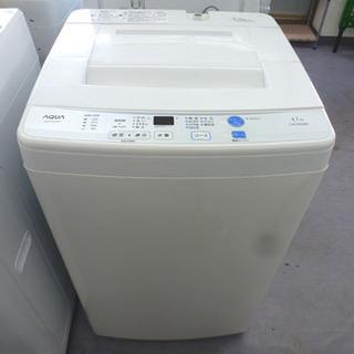 AQUA 4.5kg 2016年製 洗濯機 AQW-S45…