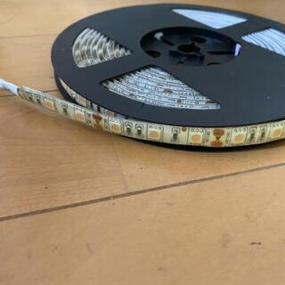 LEDテープピンク