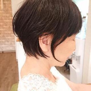 朝のセットが楽なショートヘア 【ヘアデザインミエル】