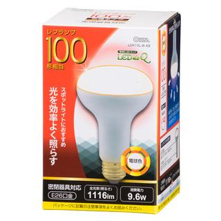 オーム電機 OHM LED電球 レフランプ形 E26 10…