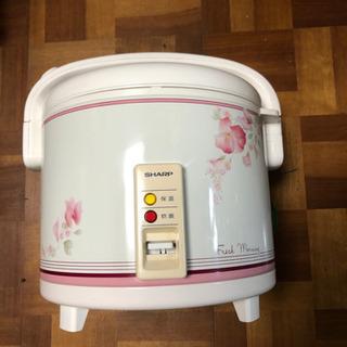 シャープ電子ジャー炊飯器10号炊き、新品