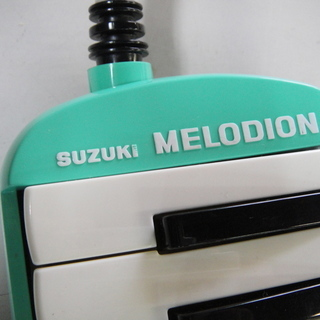 SUZUKI スズキ 鍵盤ハーモニカ メロディオン アルト パステルグリーン MX-32C ピアニカ  - 札幌市