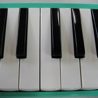 SUZUKI スズキ 鍵盤ハーモニカ メロディオン アルト パステルグリーン MX-32C ピアニカ  − 北海道