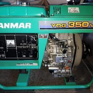 ヤンマー YDG350VA-6E ディーゼル発電機