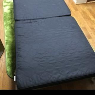 ジャンク品 折りたたみベッド