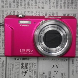 無料 コンパクトデジカメ CASIO  EX-ZS26 引き取り限定