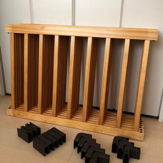 《ベビーサークル》木製8枚セット