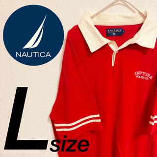 ☆NAUTICAポロシャツ☆ ワンポイントロゴ