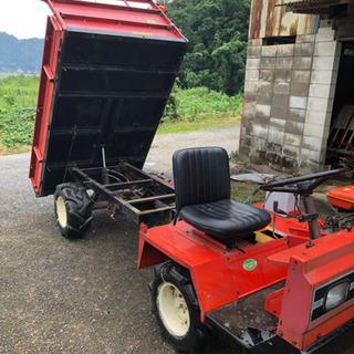 運搬車ダンプ4WD