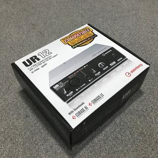 【ほぼ新品】steinberg UR12 超美品 箱有 付属品完備