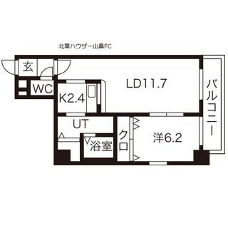 【西11丁目】外国人・高齢者OK☆浴室にTV( *´艸`)設備充...
