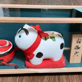 犬はりこ 狛犬 京陶人形 郷土玩具 工芸品