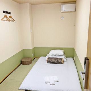 【302室和室】徳島市中心, アクティ21まで徒歩4分のゲストハウス