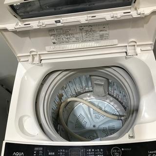AQUA アクア 洗濯機 AQW- S50E2 2015年製 5Kg - 家電