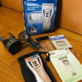 national 電動シェーバー 充電器 説明書 新品替刃付き