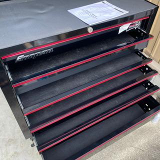 Snap-onスナップオン ロールキャビネット工具箱 ツールボックス KRH4107ヘリテージ - 家具
