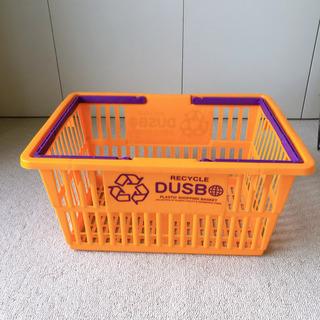 可愛くてお洒落な買い物カゴ お部屋の収納 車に積んでてもお役立ち!