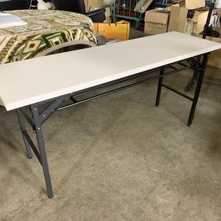 美品! 折り畳み 長机 幅150 奥45 高70cm 長テーブル...