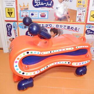 自分でススムーノ 子供用乗り物 押し車 乗用玩具