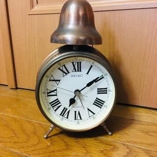 SEIKO ベル式 目覚まし時計 レトロ