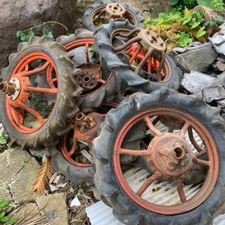 耕運機水田車輪? 4セットあります