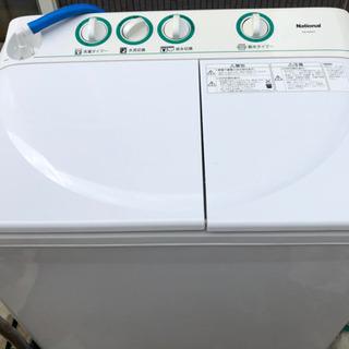 【取引決定】National 洗濯 脱水 4kg 二槽式洗…