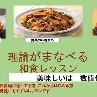 美味しいは数値化⁉家庭で使える料理の理論を学ぶ 和食レッスン