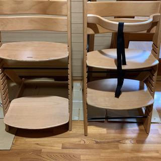 決まりました☆受け付け終了☆子供椅子二つセット 子供椅子 …