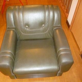 一人掛けソファ差し上げます。取りに来られる方限定