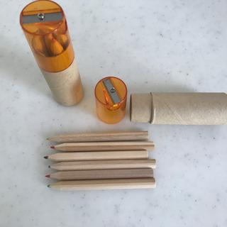 削り付き色鉛筆×2