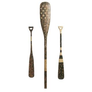 インテリア 木製オール Hanging Wooden Oars ...