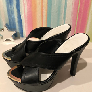 7cmヒール sサイズ 靴 - 靴/バッグ
