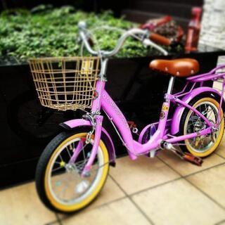 可愛いさ抜群!! 子ども自転車☆ 補助輪付き