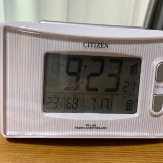 電波時計 CITIZEN