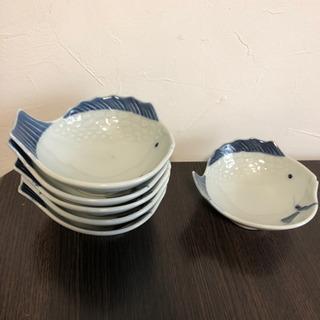 【値下げ】魚型小鉢6個セット