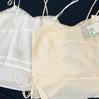 レディース スーツ 未使用キャミソール2枚 - 服/ファッション