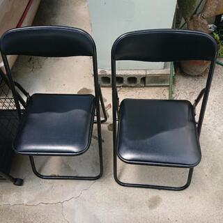 【終了】パイプ椅子2個