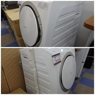 【配送設置無料エリア拡大】★美品★ 東芝/TOSHIBA ドラム式洗濯乾燥機 9.0kg TW-Z96X2ML(W) 左開き マジックドラム ピコイオン スマート家電対応 グランホワイト 2015年製 - 家電