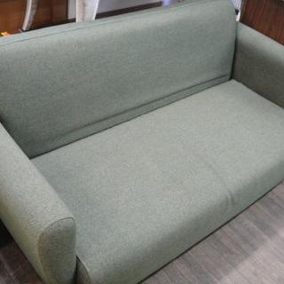 フランフラン Franc franc チック CHICK 2Pソファ ラブソファ 長椅子の画像