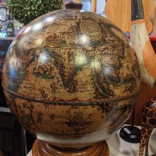 ビンテージ カクテルキャビネット 地球儀 グローブ Globe ...