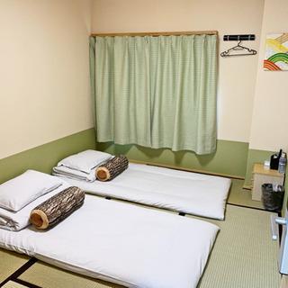 【303室和室】徳島市中心, アクティ21まで徒歩4分のゲストハウス