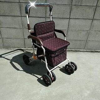 シルバー(キャリー)カート🍂お洒落な軽量型🍂リハビリ買い物お散歩にの画像
