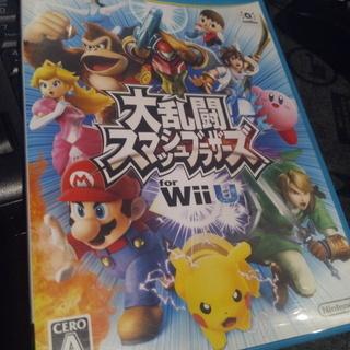 【WiiU】大乱闘スマッシュブラザーズのソフト  スマブラ…