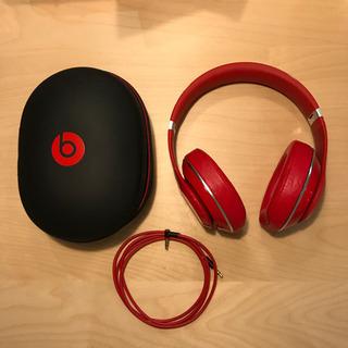 【決定しました】beats studio v2 ヘッドフォン RED