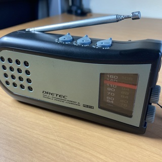 AM/FM手回しケータイ充電ラジオ・ライトの画像