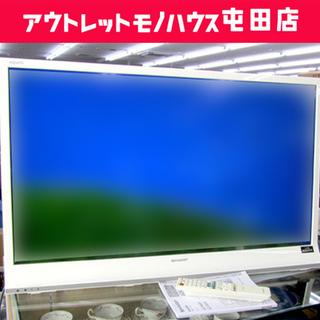 SHARP 40インチ 液晶TV 2014年製 白 LC-…